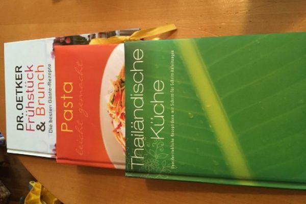 Kochbücher Reis, Pasta, Frühstück