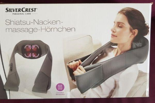Shiatsu Nackenmassage Hörnchen