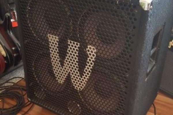 Bassanlage Warwick Profet 2 + WCA 410 Pro