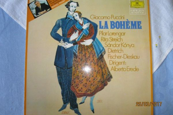 Langspielplatte Giacomo Puccini´s La Boheme