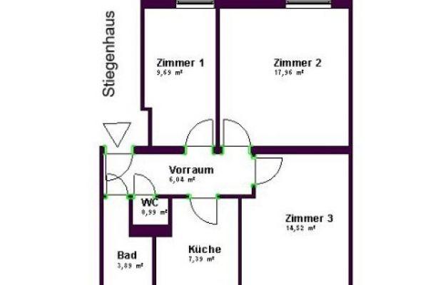 9,5 m2 Zimmer im Grünen an der U4
