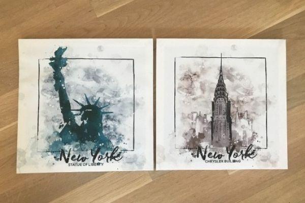 Zwei schöne Bilder zu verkaufen