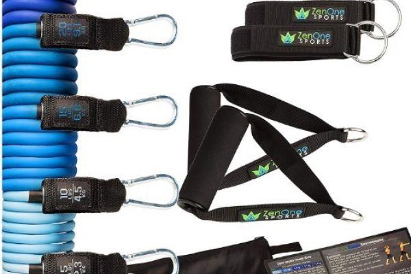 Workout Stretchbänder komplettes Set Schnäppchen
