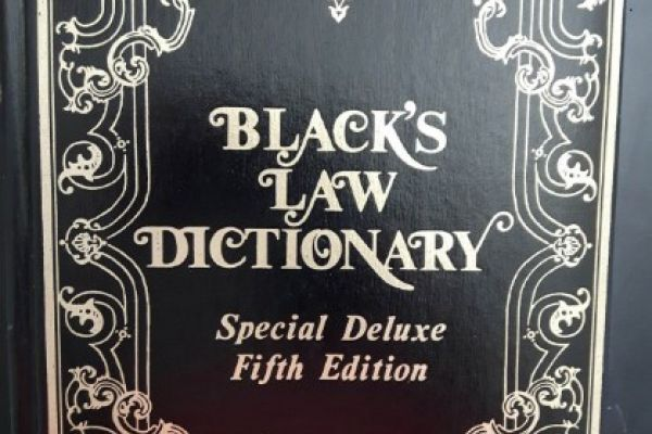 Black\'s Law Dictionary - Deluxe 5th Edition
