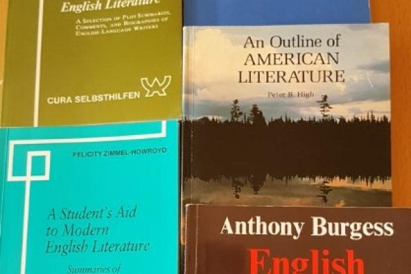 MA in education (different books)