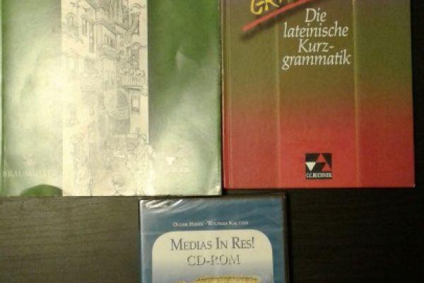 Latein Bücher/CD-Set