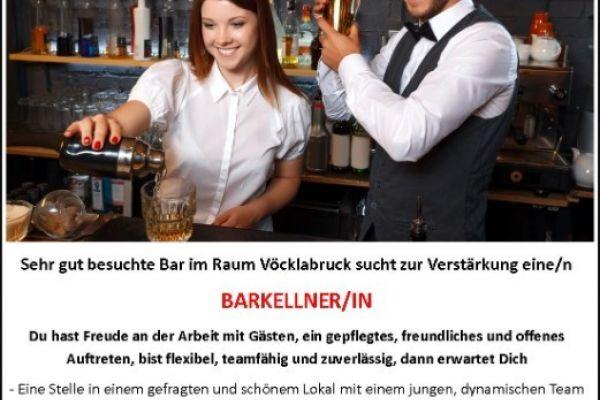 Bar-KellnerIn gesucht