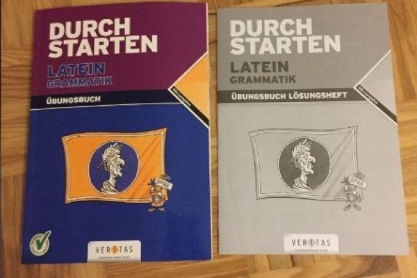 Durchstarten Latein Grammatik Übungsbuch/+Lösungen