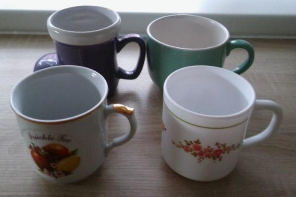 Mehrere Tassen/Schalen