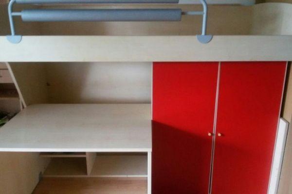 Platzsparendes Jugendzimmer für kleine Räume