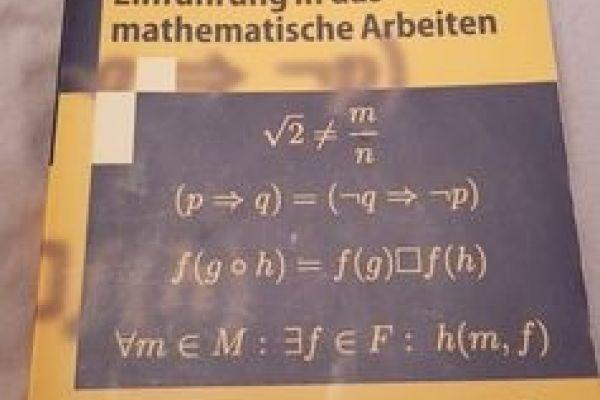 Einführung in das mathematische Arbeiten - Schichl