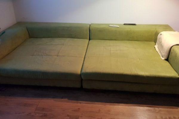 Große Couch gratis zur Selbstabholung bis 27.9
