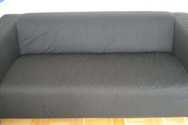 KLIPPAN Sofa (Ikea) schwarz