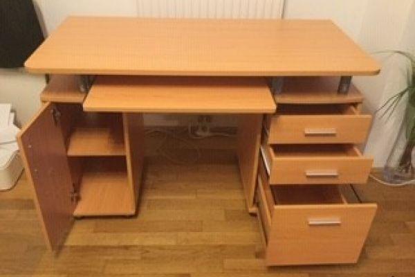 Schreibtisch Buche Dekor