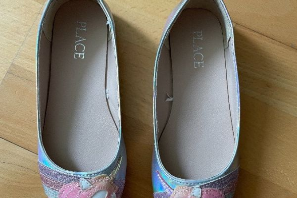 Sehr schöne Mädchen Einhorn Schuhe NUR EINMAL angezogen, FAST NEU!