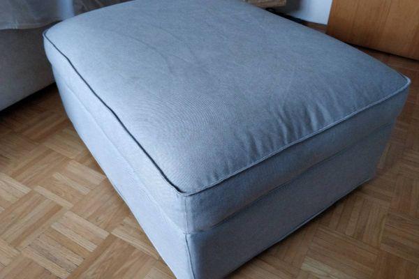 KIVIK Ikea Hocker mit Aufbewahrung