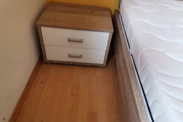 Verkaufe neuwertige Schlafzimmereinrichtung inkl. Lattenrost und Matra