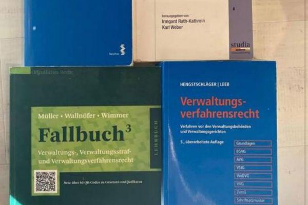Verwaltungsrecht Bücher
