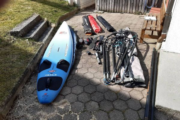 Verkaufe Windsurf Equipment