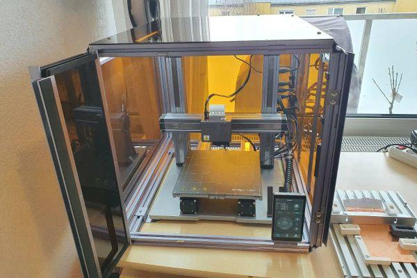 Snapmaker 2 A250 erweitert um Gehäuse + Zubehör für 3D Drucken,CNC Frä