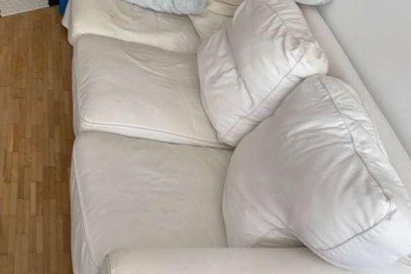 Couch Ikea Ektrop weiß