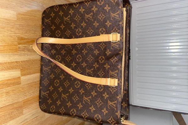 Handtasche im LV Stil