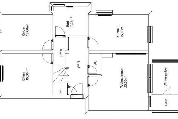 3 Zimmer WHG Oberperfuss mit Garagenplatz