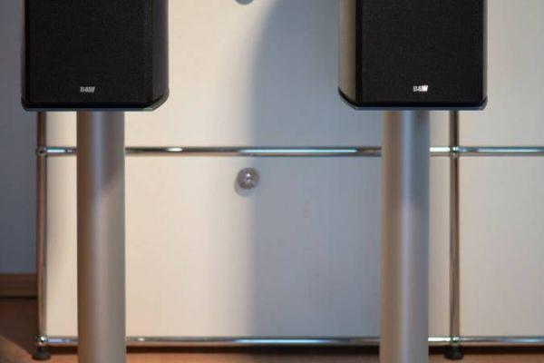 B&W Nautilus 805 mit Ständer High-End Lautsprecher