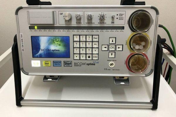 Bicom optima mobil mit EAP -Testmodul