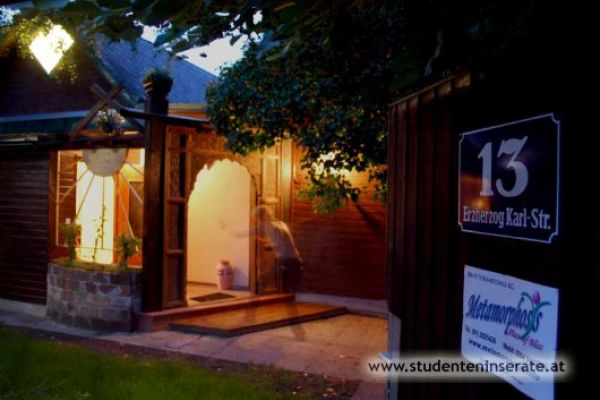 Halbes Haus f. Praxis, Studio m. Garten