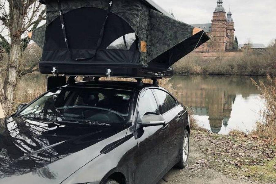 Autodachzelt Hartschalen Dachzelt - für 3 Pers. - Bild 1