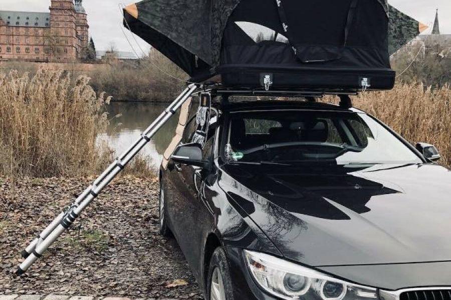 Autodachzelt Hartschalen Dachzelt - für 3 Pers. - Bild 2
