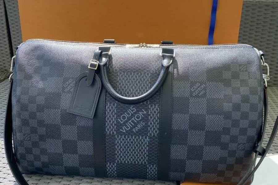 Louis Vuitton Keepall 50 Fullset Rechnung Schulterriemen 2020 Ausverka - Bild 2